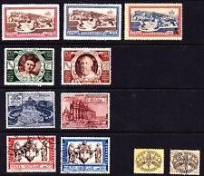 Stamps/VATICAN CITY: mixed lot of 9 SPECIAL DELIVERY STAMPS-1933-1960(See Descr)