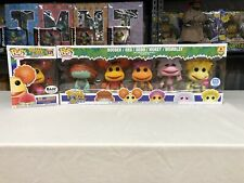 Funko Pop! Fraggle Rock 5-Pack Flocked Funko Shop Exclusive Bonus Red W/ Doozer