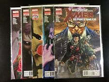 Wolverine and the X-Men: Alpha and Omega 1 2 3 4 5 Marvel 2012 Wood Brooks L5