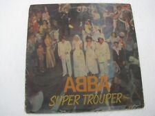 Abba Super Trouper LP Record World India-1527