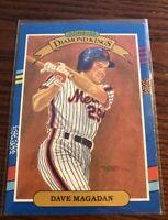 1991 Donruss Diamond Kings Dave Magadan Baseball Card #17