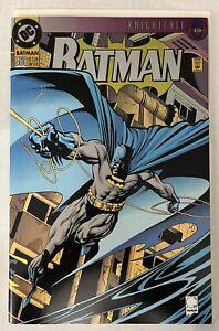Batman 500 NM signed by Joe Quesada w/CoA. LOOK!!