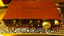 Focusrite Scarlett 2i2 USB 2.0 Audio Interface Home Recording 2 in 2 out