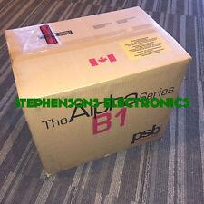 BrandNewPair PSB Speakers Alpha B1 Bookshelf Speakers (BLACK ONLY)