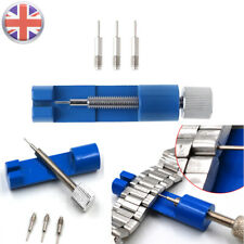 UK Watch Strap Band Adjuster Shorter Repair Extractor Tool Link Pins Remover Set