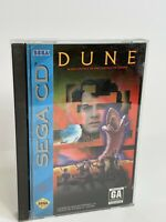 Dune Sega CD Complete w/ Registration - Free Shipping