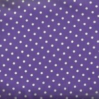 Purple and white dots Timeless Treasures fabric
