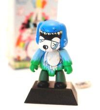 "Toy2r 2.5"" Key Chain Qee Series 4 Vol 2 Tado Alabama Sugar Blue Kidrobot Art"