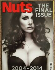 Nuts magazine The Final Issue 2004 - 2014 Lucy Pinder RARE AND COLLECTABLE