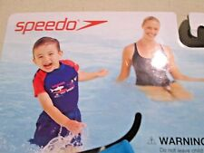 New Speedo Kids Surf Uv 2-piece Flotation Suit (Size M/L ) Age 2-4