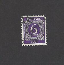 Germany Soviet Zone local overprint 6pf violet 36 / Birkenwerder * MH ex Jim Czy