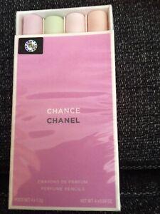 CHANEL Chance Crayons De Parfum Solid Perfume Pencils Full Retail Size