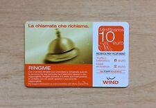 RICARICA TELEFONICA WIND - LA CHIAMATA CHE RICHIAMA - 10,00 EURO