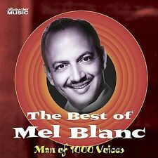 The Best of Mel Blanc: Man of 1000 Voices by Mel Blanc (CD, Nov-2005, Col..) New