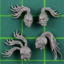 Chaos daemons daemonettes of Slaanesh Heads Warhammer 40K Bitz 7394