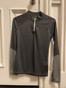 NEW Stio Basis Power M Wool Zip Neck  Baselayer Shirt M $119 Fleece