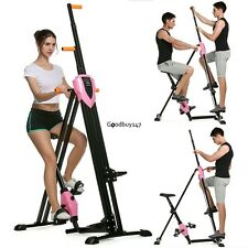 Vertical Climber Step Fitness Exercise Climbing Machine Cardio Workout Trainer