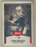Tom Brady New England Patriots 2016 Classics CLASSIC MOMENTS