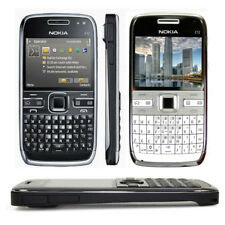 Unlocked Nokia E Series E72 5MP Wifi Bluetooth GSM Bar QWERTY Keypad CellPhone