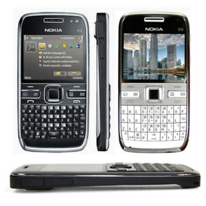 Original Nokia E72 5MP Camera 3G WIFI UNLOCKED QWERTY Keyboard MP3 Mobile Phone