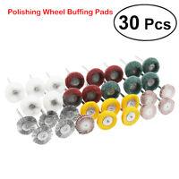 30 pièces Accessoire pour outil de perceuse rotatif Polissage PAD de polissage