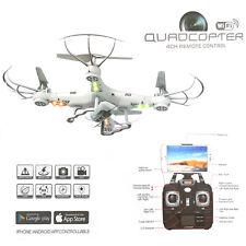 DRONE VOLANTE WIFI CAMERA K300 QUADCOPTER CON TELECOMANDO VIDEO FOTO RICARICABIL