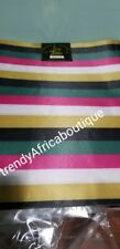 Nigerian Gele head wrap fabric. SAGO 2 in 1 pack of multi color gele head wrap