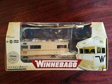 GREENLIGHT 1/64 1973 WINNEBAGO CHIEFTAIN RV W/ BOAT AND TRAILER 51082 CHASE CAR