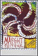 Pierre Alechinsky DLM 250 Poster Kunstdruck Bild Lithographie 88x60cm