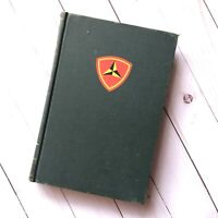 The Third Marine Division 1948 First Edition Book HC Antique Militaria War Vtg
