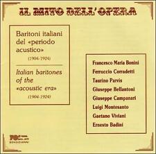 Il Mito Dell'Opera: Baritoni Italiani Del Periodo, New Music