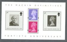 Great Britain 40th Anniv Machin stamps min sheet mnh