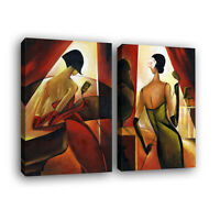 Without Frame Home Decor Canvas 1 Panels Abstract Woman Wall Art Canvas Prints