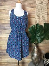 NWT Impeccable Pig Spring Summer Slip Dress Tie With Pockets