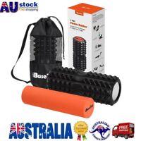 2 IN 1 Physio EVA PVC Foam Yoga Roller Gym Back Training Exercise Massage AU