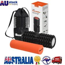 2 IN 1 Physio EVA PVC Foam Yoga Roller Gym Back Training Exercise Massage AU