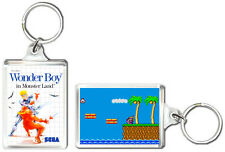 WONDER BOY IN MONSTER LAND MASTER SYSTEM KEYRING LLAVERO
