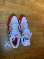 NIKE AIR MAX ONE 1 ANNIVERSARY UNIVERSITY RED SIZE  11 New In Box 100% Authentic