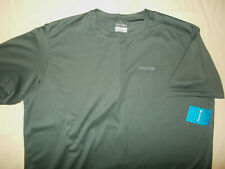 NWT COLUMBIA OMNI-WICK SHORT SLEEVE GRAY ATHLETIC T-SHIRT MENS 2X RETAILS $35