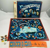1981 Superman II Game by Milton Bradley Complete in Good Condition FREE SHIPPING