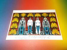 Gibert & George Art Kunst  signed signiert Autogramm auf  Autogrammkarte
