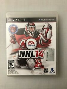 NHL 14 PlayStation 3 PS3 Hockey Video Game EA Sports - Case + Manual - Working