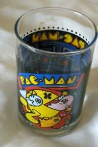 Bally 1980 Pac Man 8 oz. Drinking Glass