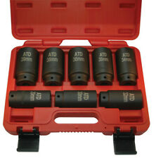 Atd 8 Piece Axlespindle Nut Socket Set 12 Point 8628