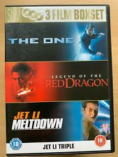 the One + Legend of the Red Dragon + Meltdown DVD Box Set Martial Arts 3 Discs