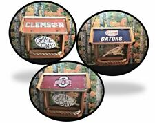 College Ncaa Deluxe Two-Sided Cedar Bird Feeder (Other Colleges Available)