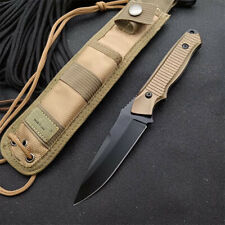 NEW Aluminum Alloy Handle 154CM Steel Full Tang Tactical Knife EDC 140BK