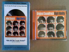 High Fidelity - John Cusack, Jack Black - Sealed Vhs Tape + Compact Disc