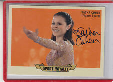 "2010 UPPER DECK GOODWIN SPORT ROYALTY SASHA COHEN ""OLYMPIC SKATER AUTOGRAPH AUTO"