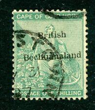 British Bechuanaland 1885 1/- Green SG 8 FU